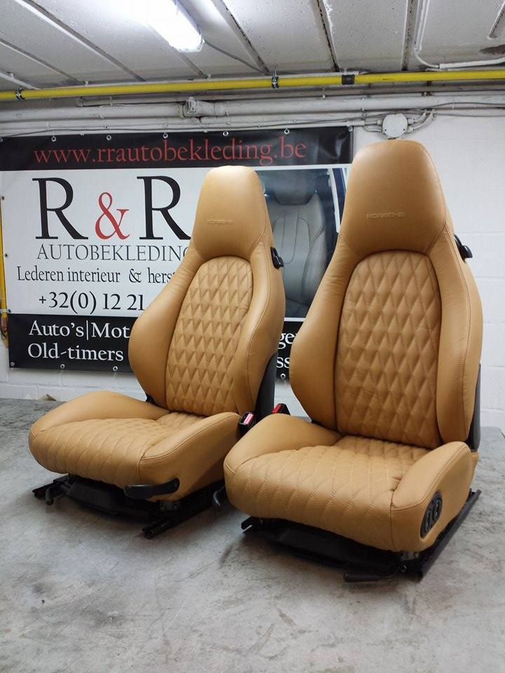 Custom zetels r r autobekleding for Auto interieur vernieuwen
