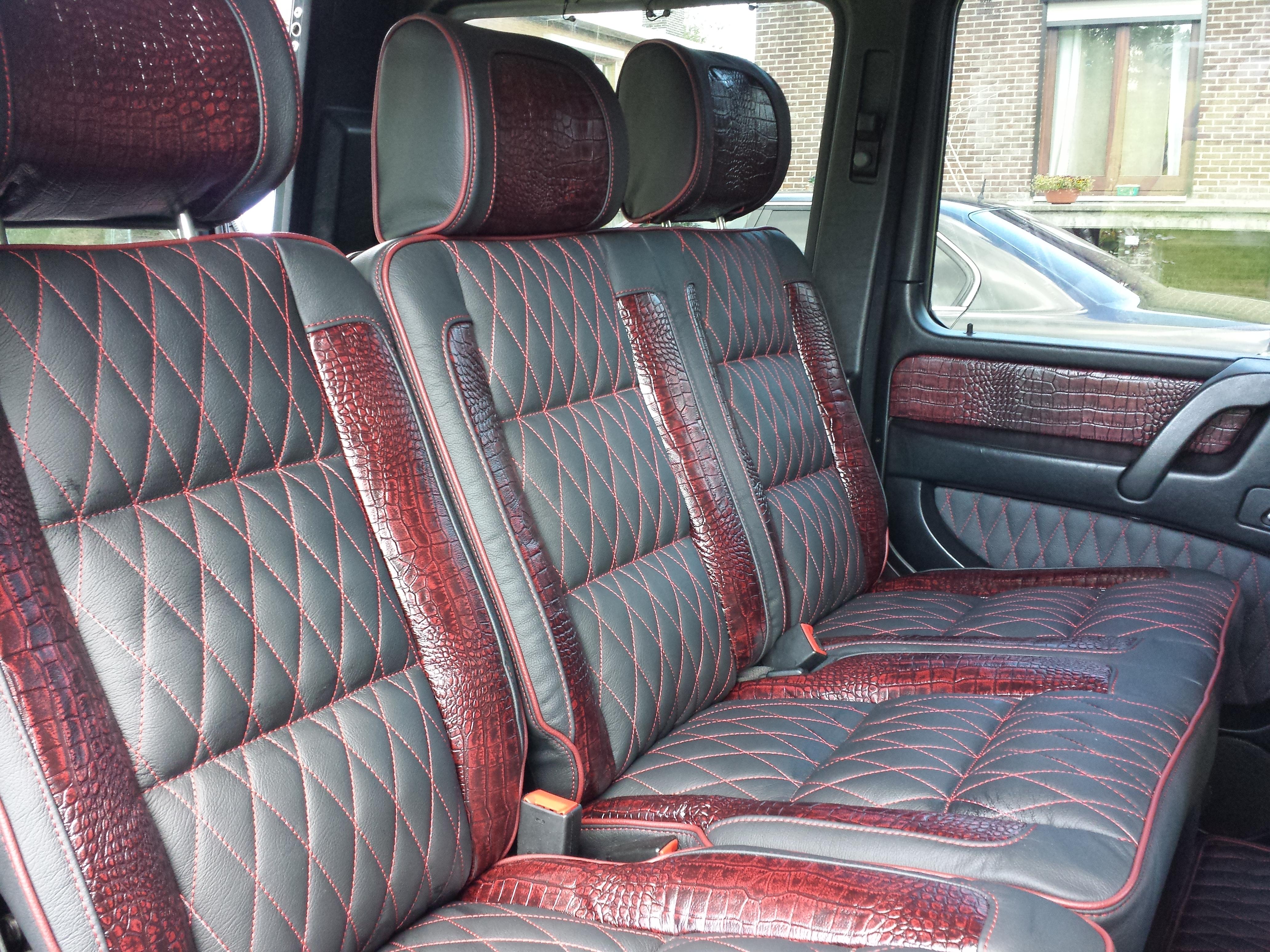 Corba design g wagon r r autobekleding for Auto interieur bekleden