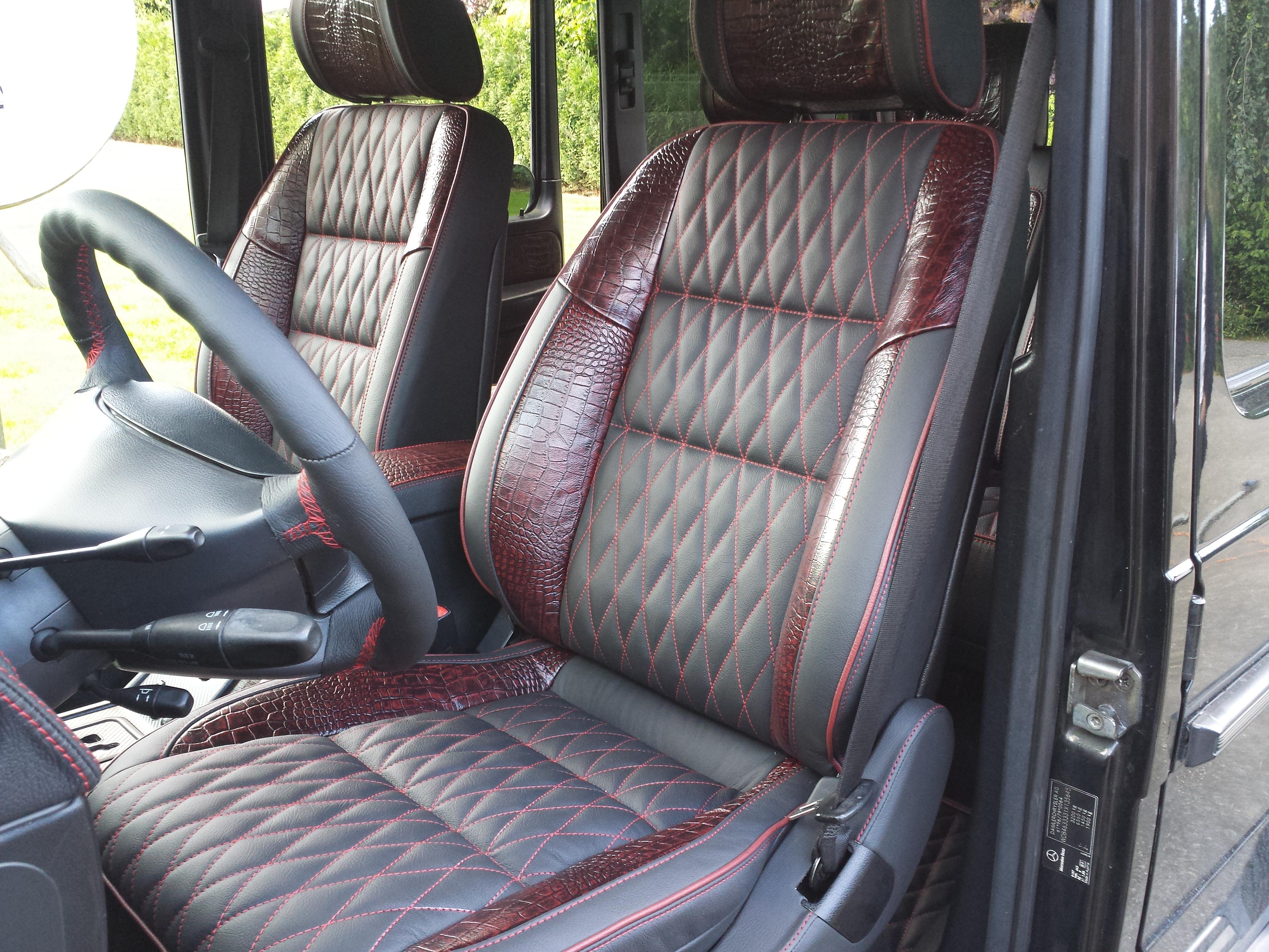 Corba design g wagon r r autobekleding for Auto interieur reparatie